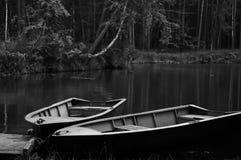 Deux bateaux Photo stock