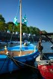Deux bateaux de pêche. Images libres de droits