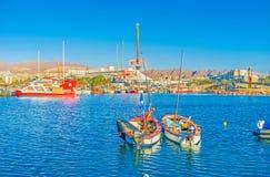 Deux bateaux de pêche Photo libre de droits