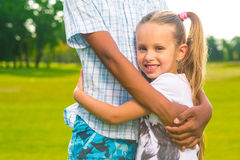 Deux beaux enfants Photographie stock libre de droits