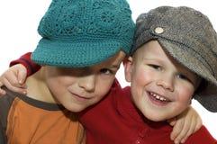 Deux beaux frères Photo libre de droits