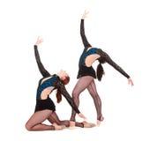 Deux beaux gymnastes photos libres de droits