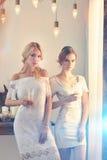 Deux belles femmes Image libre de droits