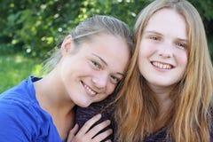 Deux belles soeurs Image stock