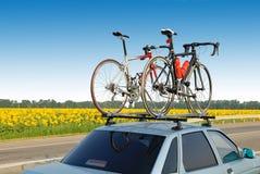 Deux bicyclettes Image libre de droits