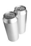 Deux bidons de bière images libres de droits
