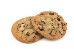 Deux biscuits Photos stock