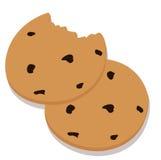 Deux biscuits Photos libres de droits