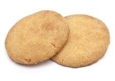 Deux biscuits de sablé Photographie stock libre de droits