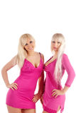 Deux blondes de charme Photo stock