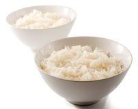 Deux bols de riz Photo libre de droits