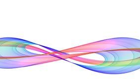 Deux boucles illustration de vecteur