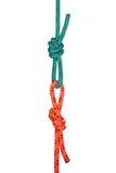 Deux boucles de corde Photographie stock