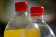 Deux bouteilles Image libre de droits