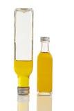 Deux bouteilles de pétrole Images stock