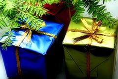 Deux cadeaux Images libres de droits