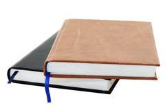 Deux cahiers Photos libres de droits