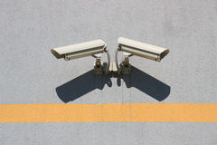 Deux caméra vidéo Images libres de droits