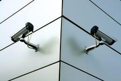 Deux caméras de sécurité Image stock