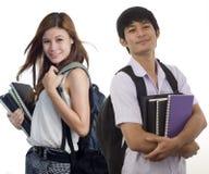 Deux camarades de classe Image libre de droits