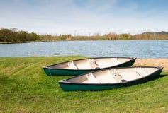 Deux canoës photo libre de droits
