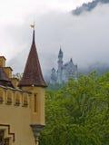 Deux châteaux Image stock