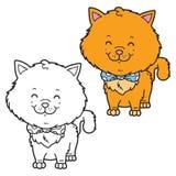 Deux chatons Photo libre de droits