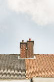 Deux cheminées Photo libre de droits