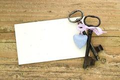 Deux clés Photographie stock libre de droits