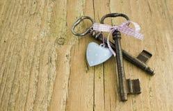 Deux clés Photos libres de droits