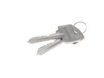 Deux clés Photo stock