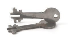 Deux clés Image stock