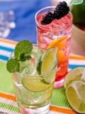 Deux cocktails photos stock