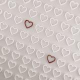 Deux coeurs d'amour Photographie stock libre de droits