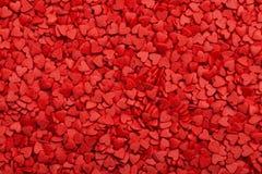 Deux coeurs Symbole de l'amour Images libres de droits