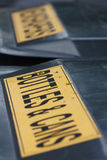 Deux coffres de réutilisation Photo libre de droits