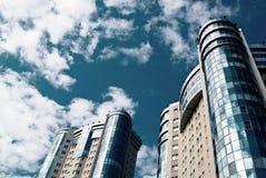 Deux constructions modernes Photo libre de droits