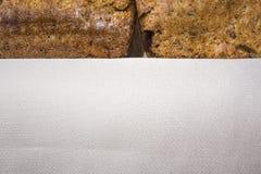 Deux croûtes de pain fait maison Photo stock