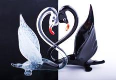 Deux cygnes Image libre de droits