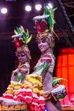 Deux danseurs féminins cubains Image stock