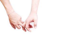 Deux doigts moyens Photographie stock libre de droits