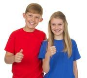 Deux enfants ensemble Photographie stock