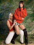 Deux femmes Image stock