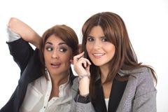 Deux femmes d'affaires Photographie stock libre de droits