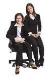 Deux femmes d'affaires d'ami photographie stock libre de droits