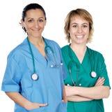 Deux femmes de docteur Image libre de droits