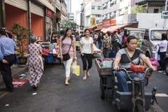 Deux femmes heureuses, Shenzhen photos stock