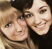 deux femmes jeunes Images libres de droits