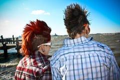 deux femmes jeunes Photographie stock libre de droits