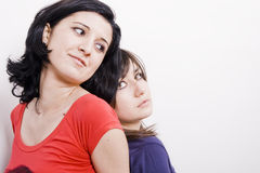 Deux femmes sexy Photo stock
